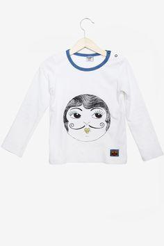Log sleeve shirt - Rita Sue (Inspired by HBO Tv-series Carnivàle!) by Modeerska Huset Hbo Tv Series, Shirt Sleeves, Long Sleeve Tops, Crop Tops, Sweatshirts, Sweaters, Inspired, Women, Style