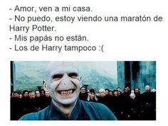 No sean culeis.   18 Memes de Harry Potter tan chistosos que hasta harán reír a Voldemort