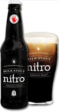 Nitro Milk Stout (Left Hand Brewing), 6% ABV