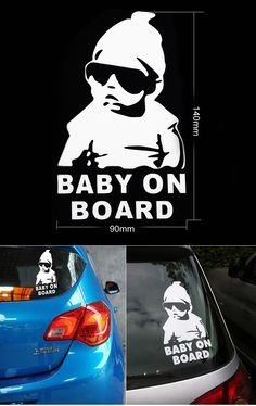 purchase cheap fcfed 96c76 Find More Stickers Information about Free Shipping,car styling,3D  waterproof Baby On Board