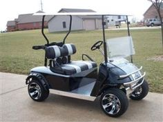 Customized Golf Cart, WANT IT