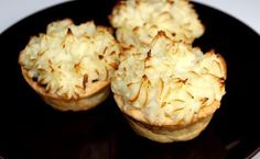 Chicken pie with mashed potato topping