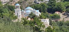 Kreta-Kloster St.Nicolas Kirchen, Taj Mahal, Travelling, Building, Mosque, Crete, Temples, Buildings, Construction