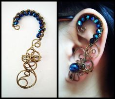 Yogitha Ramamoorthy: Ear Cuffs - Don't pierce your ears :)