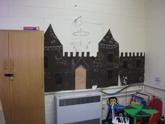 Castle Drawing Display, Classroom Display, class display, history, castles, flag, turret, battle, old, Early Years (EYFS), KS1 & KS2 Primary Resources