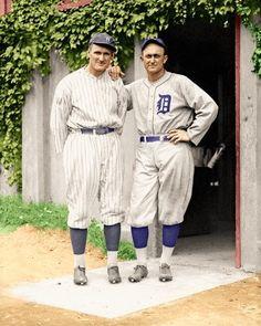 Walter Johnson, Ty Cobb