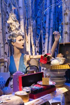 Harrods Christmas Windows, 2014 | TWG Tea by Millington Associates | Repinned by Elite Sourcing, LLC | The source for store fixtures and display hardware | www.elitesourcingllc.com
