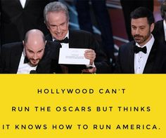 The blast President Trump, and screw up the Best Picture 2017 Oscar Award Ceremony.