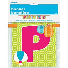 275ft Summer Party Banner *** Be sure to check out this awesome product. (This is an affiliate link)