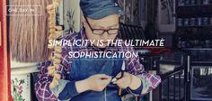75-LA SIMPLICIDAD ES LA MÁXIMA SOFISTICACIÓN