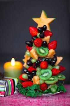 Expectation: Christmas Fruit Tree. | 17 Hilariously Tragic Holiday Baking Fails