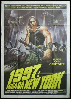 """Escape From New York"" (1981) movie poster #vandroid"