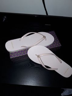 85054f8a9cb Tory burch flip flops 10 NIB (seashell)  fashion  clothing  shoes   accessories  womensshoes  sandals (ebay link)
