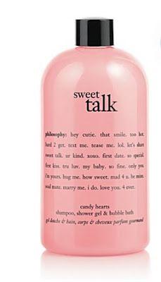 Philosophy Sweet Talk Candy Hearts Shampoo, Shower Gel & Bubble Bath
