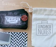 inklings paperie lunchbox notes - scratch them off to reveal the message!