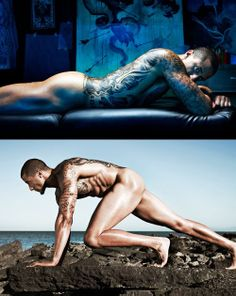ESPN Kaepernick Body Issue | Colin Kaepernick e Kenneth Faried posam para a ESPN - Gira SP - o ... Nfl 49ers, Body Issues, Colin Kaepernick, Poses, Male Body, Espn, Madness, Projects, Sport