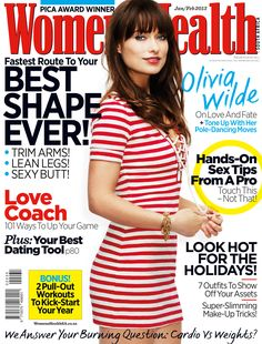 638ec25b9f0 54 Best Women s Health Cover Stars images in 2019