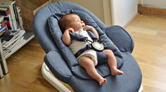 Stokke Steps Bouncer for Baby – Use independently or with the Steps chair to bring Baby to the family table from Day 1 – Via Ingrid Holm blog