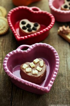 Cocoa Hearts Dessert Dip | Great for Valentine's Day, Game Day & Entertaining | FamilyFreshCooking.com