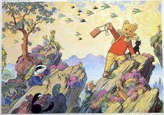 Alfred Bestall artwork
