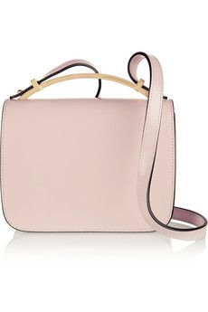 1447f11344 Marni - Sculpture small glossed-leather shoulder bag