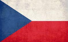 Flag of the Czech Republic wallpaper
