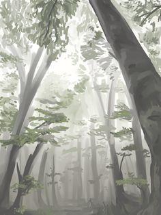 【木の描き方】絵が上手い人来てくれ!! 萌えイラスト上達法! お絵かき初心者の学習部屋