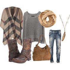 Love the poncho, Frye boots and bag. Trust me, you can never have enough of this look! Look Fashion, Fashion Outfits, Womens Fashion, Fall Winter Outfits, Autumn Winter Fashion, Pretty Outfits, Cute Outfits, Frye Boots, Fall Wardrobe