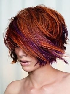 Red Purple Bob