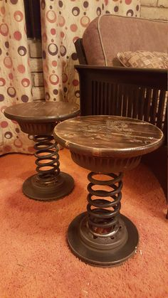 Custom Spring Bar Stools by Rachel Gill If interested please call or email 602-663-3173 rachelmariegill@gmail.com