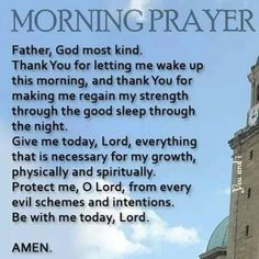 Before you start your day, pray this over yourself and believe it. Powerful Morning Prayer, Morning Prayer Quotes, Good Morning Prayer, Morning Inspirational Quotes, Inspirational Prayers, Morning Blessings, Good Morning Love, Morning Prayers, Good Morning Quotes