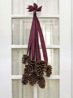 Diy Thanksgiving Decor Pinecone Ornament