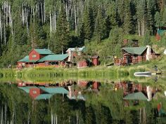 Coulter Lake Guest Ranch in Colorado ʊ  For more Wild West romance http://www.thewondermap.com/dude-ranch-vacations-top-3/
