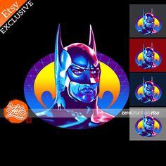 Unisex/Mens: Batman 1989 Shirt / Michael Keaton Tee by zerobriant