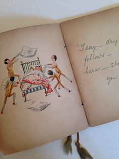What I DID BY Kathleen Ainslie Antique PEG Wooden Doll Lithograph Book 1907   eBay