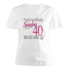 40th Birthday Gifts Light T Shirt