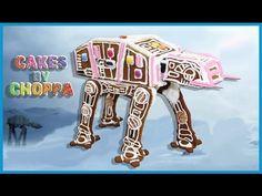 Gingerbread Star Wars AT-AT Walker | (How To) feat: ThePapadumGeek - YouTube