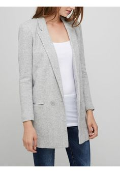 Vero Moda Blazer - light grey - ZALANDO.FR