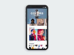 Hi guys ✌️ I made a new prototype of the Colors Berlin's website. Pictures and videos by Colorsberlin.   Press L for some support 