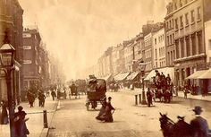 Oxford Street, looking west from Duke Street. Site of Selfridges on the right - Oxford Street - Wikipedia, the free encyclopedia
