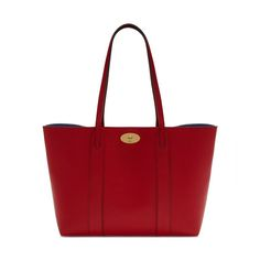 Shop the Bayswater Tote in Scarlet & Oxford Blue Leather at Mulberry.com. The perfect everyday bag, the Bayswater Tote is eternally practical; spacious enough to fit essentials from an iPad to a pair of shoes. This classic style closes with the iconic postman's lock, and features a luxurious suede lining. Use the internal, removable pocket to store your most valued essentials.