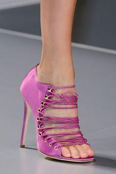 Blumarine at Milan Fashion Week Spring 2013 - StyleBistro