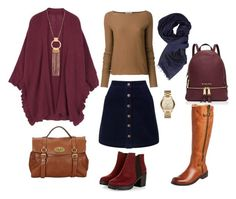 """True autumn"" by miss-incognito on Polyvore featuring мода, MICHAEL Michael Kors, Mulberry, Michael Kors, Chocolat Blu, Miss Selfridge, DuÅ¡an и Armani Jeans"