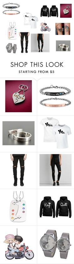 """lovers dream"" by fridaythe13 ❤ liked on Polyvore featuring American Eagle Outfitters and Precious Moments"