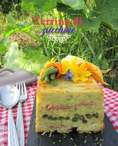 Siula Golosa: Terrina di zucchine e fagiolini