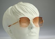 Silhouette M 6277 / Vintage sunglasses / NOS / 80S Butterfly