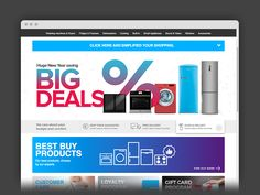 Home appliances web shop
