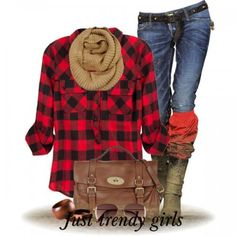 Winter trendy outfits for 2014 | Just Trendy Girls
