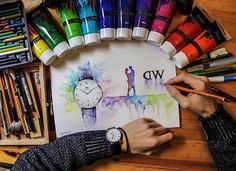 [Repost from instagram] Congratulations to @criscoart on being our #DWPickoftheDay! Make sure that you tag your photos with #danielwellington for a chance to get featured, and visit danielwellington.com to find your favorites.