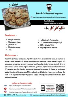 Dessert Companion, Cake Factory, Batch Cooking, Cookies Et Biscuits, Tupperware, Easy Desserts, Voici, Ainsi, Recipes